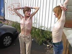 Anorexic Teens Get Naked